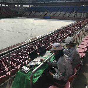 カシマサッカースタジアム様 放送設備更新工事